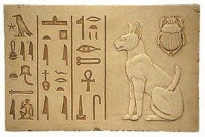 babstet figürü, Kedinin insan yaşamındaki tarihi